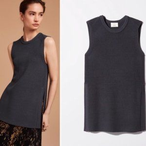 Wilfred 100% Wool Sleeveless Vest Sweater Top XS